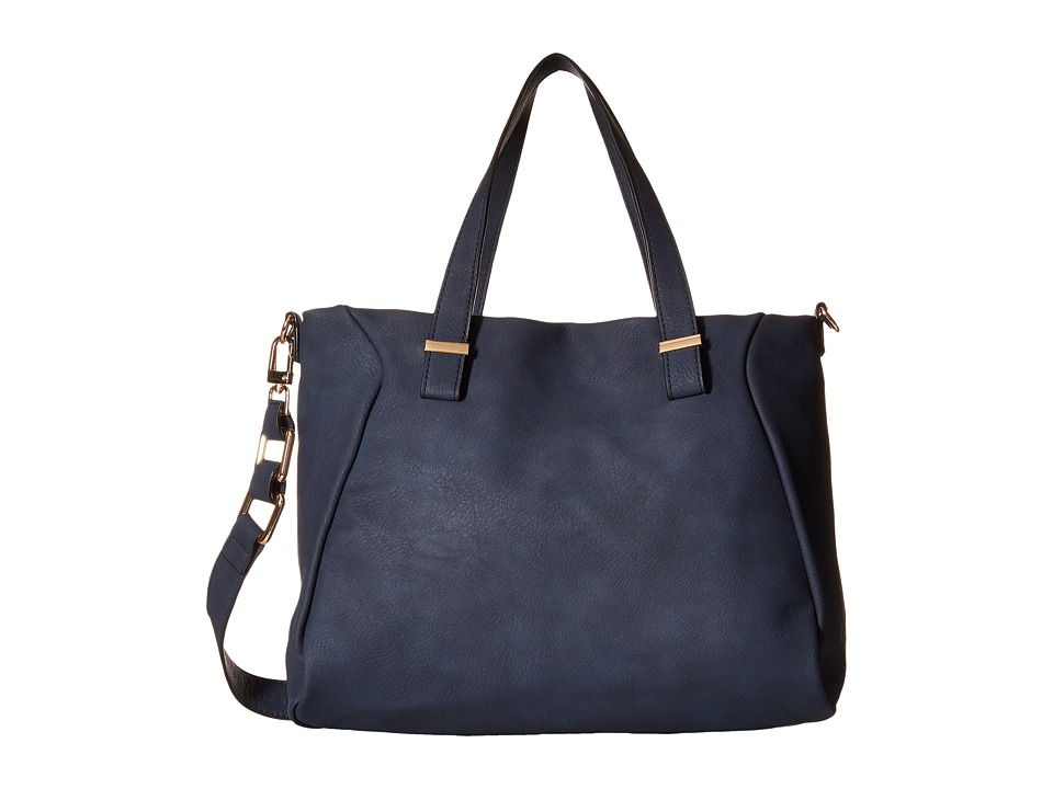 Gabriella Rocha - Melinda Satchel with Shoulder Strap (Navy) Satchel Handbags