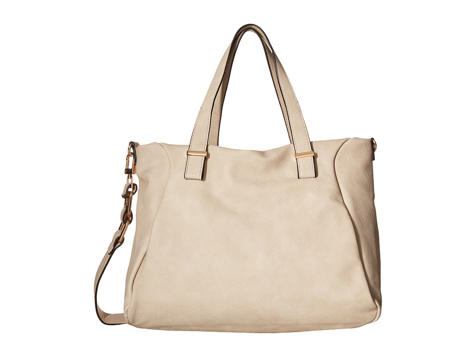 Gabriella Rocha - Melinda Satchel with Shoulder Strap (Beige) Satchel Handbags