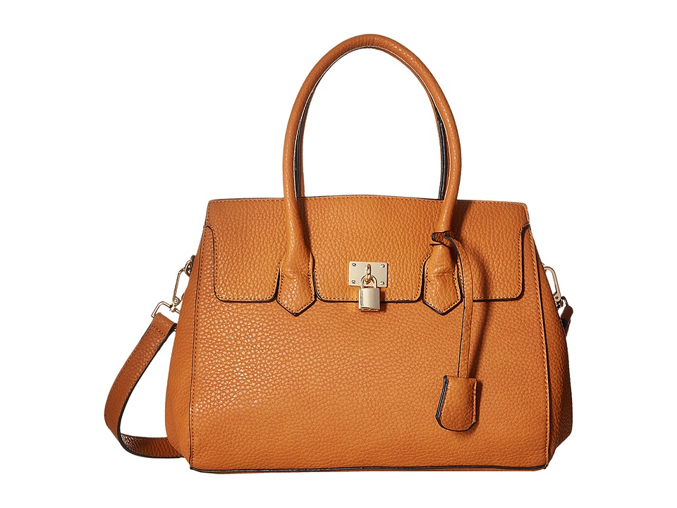 Gabriella Rocha - Deirdra Satchel with Shoulder Strap (Camel) Satchel Handbags