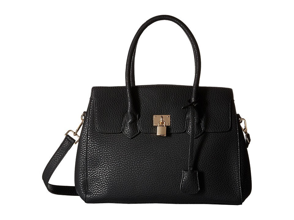 Gabriella Rocha - Deirdra Satchel with Shoulder Strap (Black) Satchel Handbags