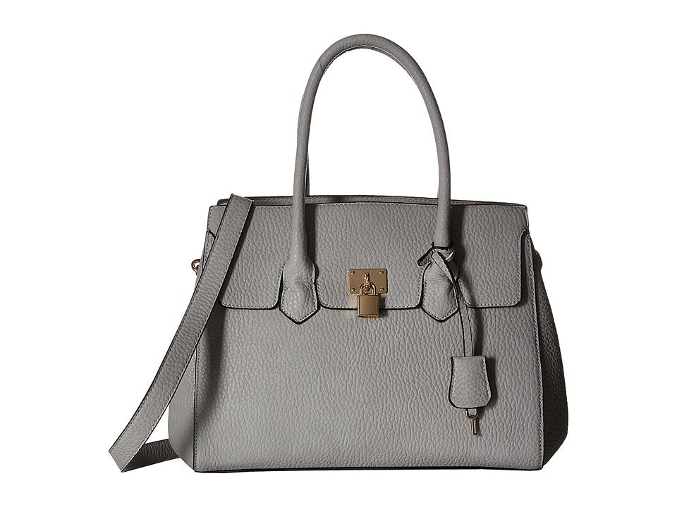 Gabriella Rocha - Deirdra Satchel with Shoulder Strap (Grey) Satchel Handbags