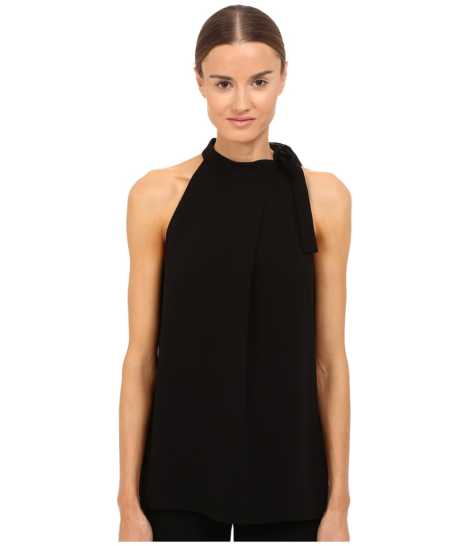 Theory - Maysprin Admiral Crepe Blouse (Black) Women's Blouse