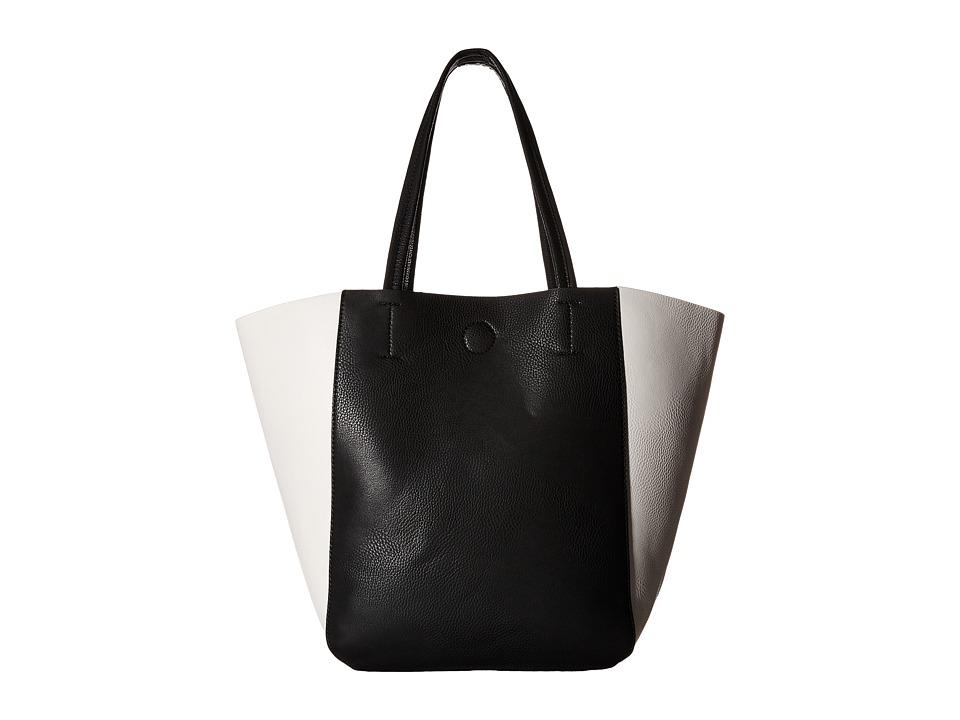 Gabriella Rocha - Jean Color Block Tote (Black/White) Tote Handbags