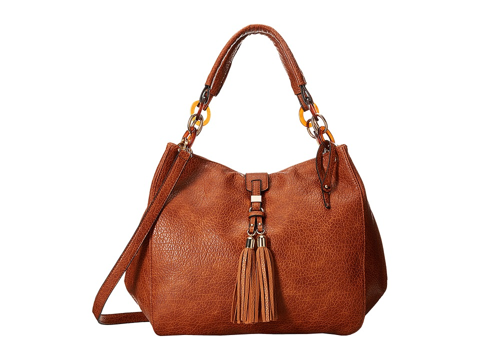 Gabriella Rocha - Hariett Shoulder Bag with Tassel (Brown) Shoulder Handbags