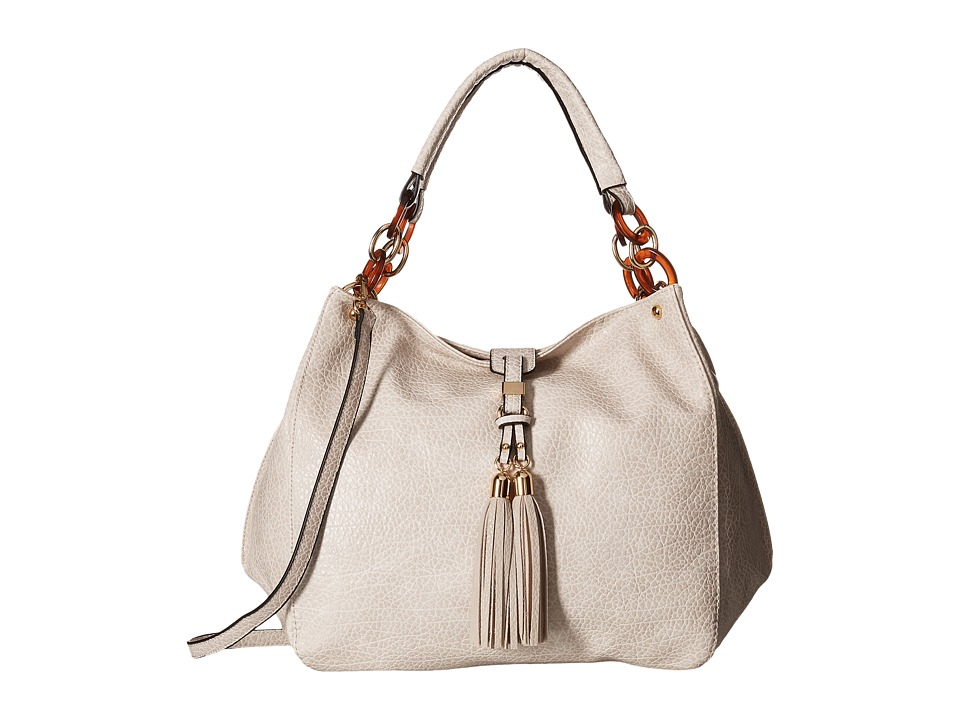 Gabriella Rocha - Hariett Shoulder Bag with Tassel (Off-White) Shoulder Handbags