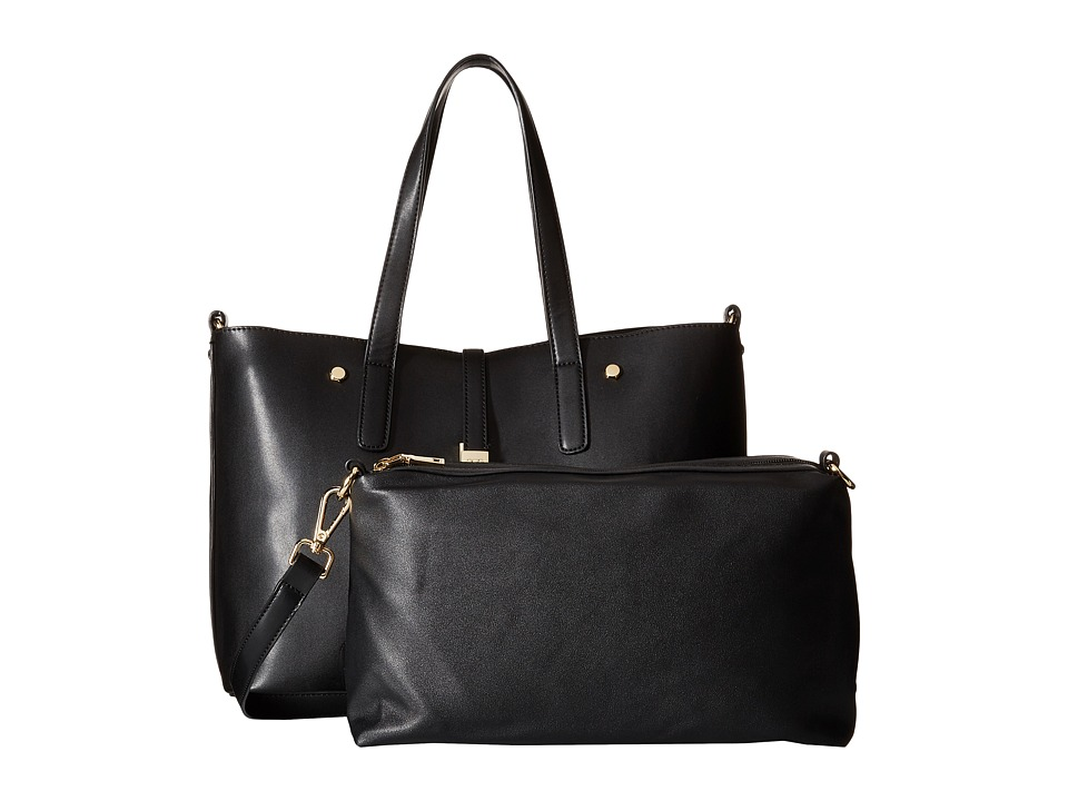Gabriella Rocha - Rosalind 2-in-1 Tote with Inside Bag (Black) Tote Handbags