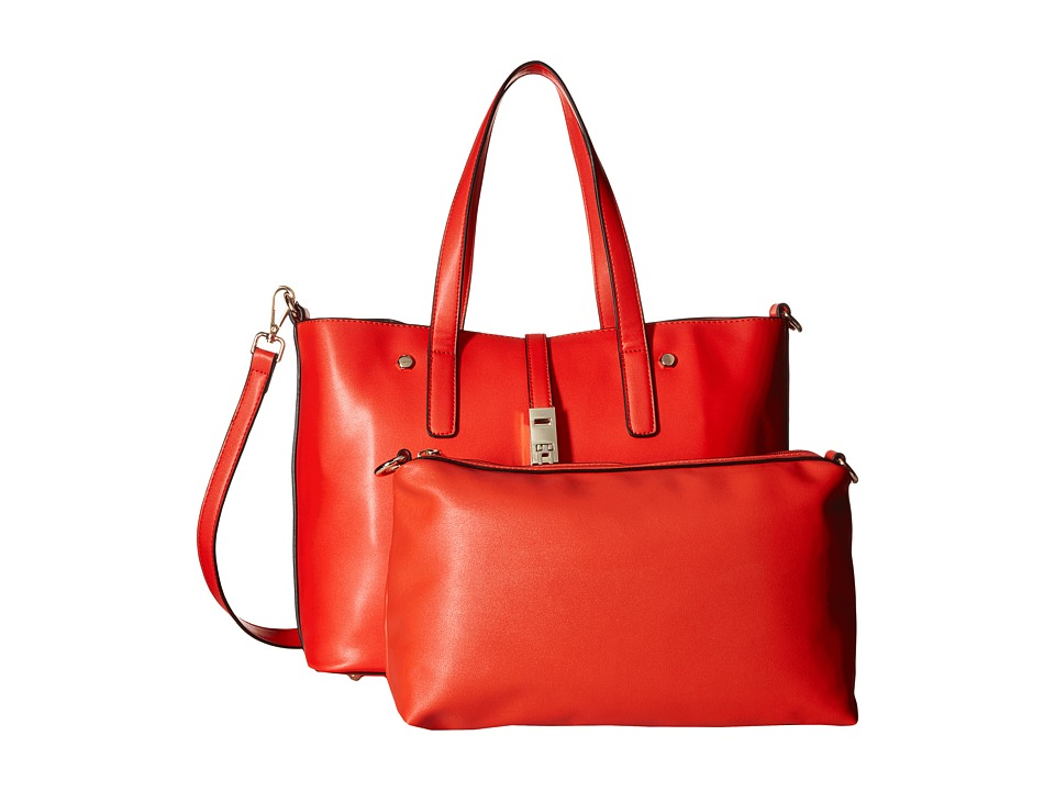 Gabriella Rocha - Rosalind 2-in-1 Tote with Inside Bag (Red) Tote Handbags