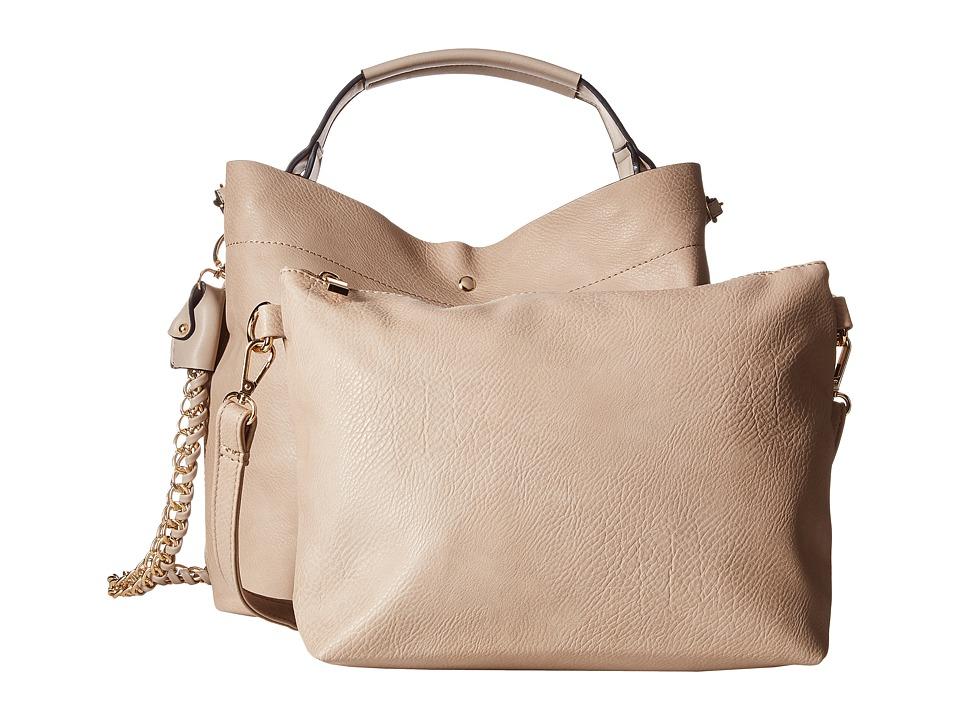 Gabriella Rocha - Cecily Tote with Shoulder Strap (Beige) Tote Handbags