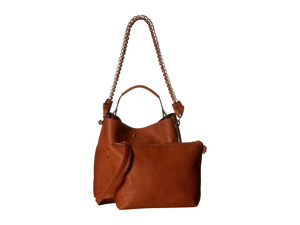 Gabriella Rocha - Cecily Tote with Shoulder Strap (Camel) Tote Handbags
