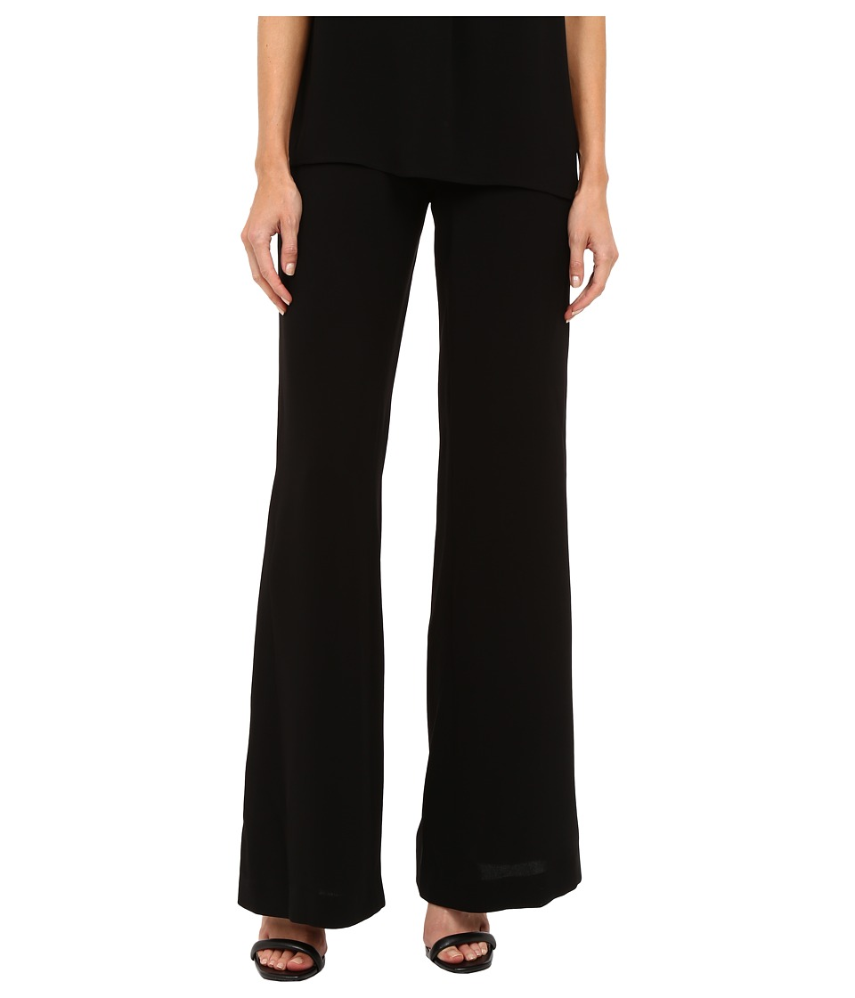 Theory - Simonne Admiral Crepe Pants (Black) Women's Casual Pants