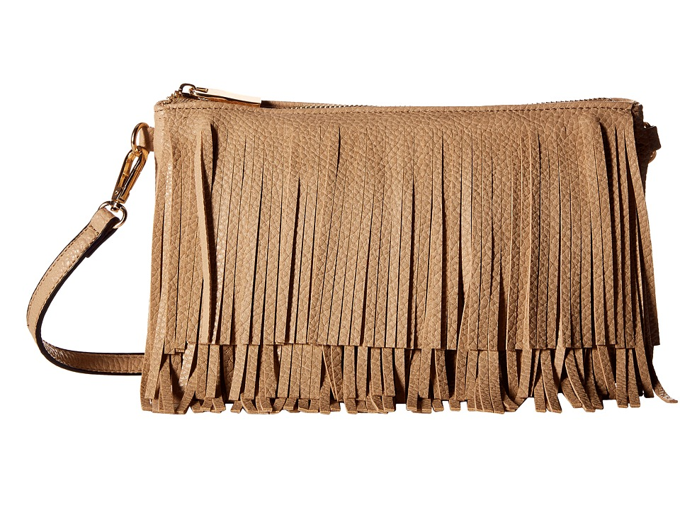 Gabriella Rocha - Ramona Fringed Crossbody Purse (Beige) Wallet Handbags