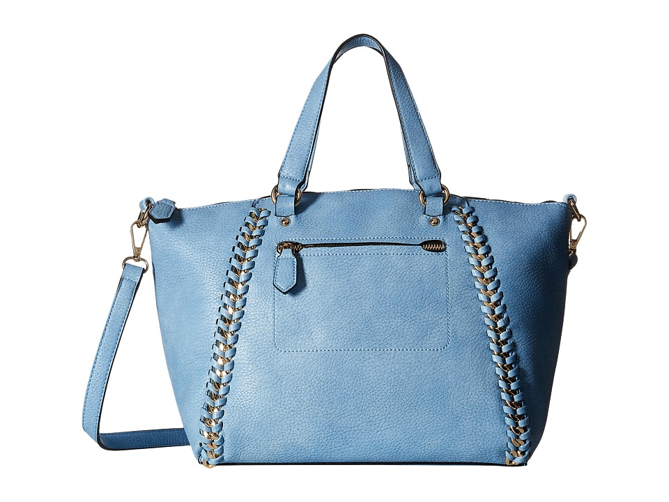 Gabriella Rocha - Livy Purse with Chain Detail (Blue) Wallet Handbags