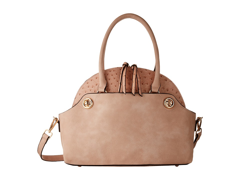 Gabriella Rocha - Louise 2-in-1 Ostrich Purse (Pink) Wallet Handbags