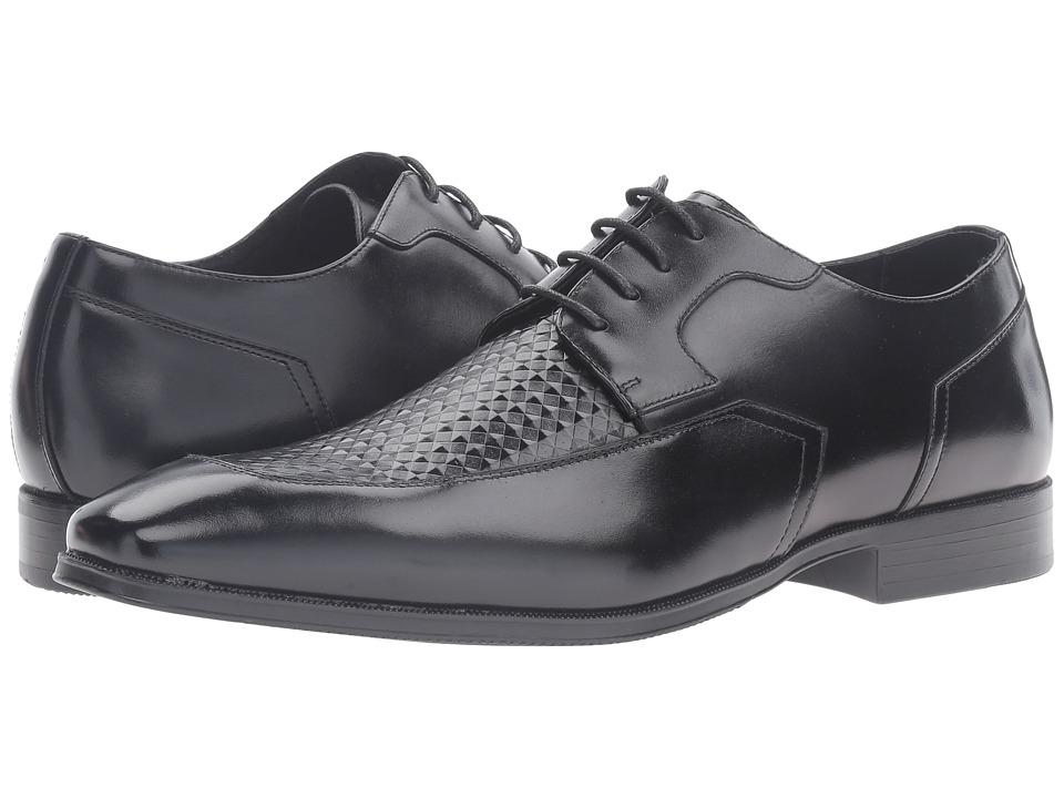 Stacy Adams - Faxon Moc Toe Oxford (Black) Men's Lace Up Moc Toe Shoes