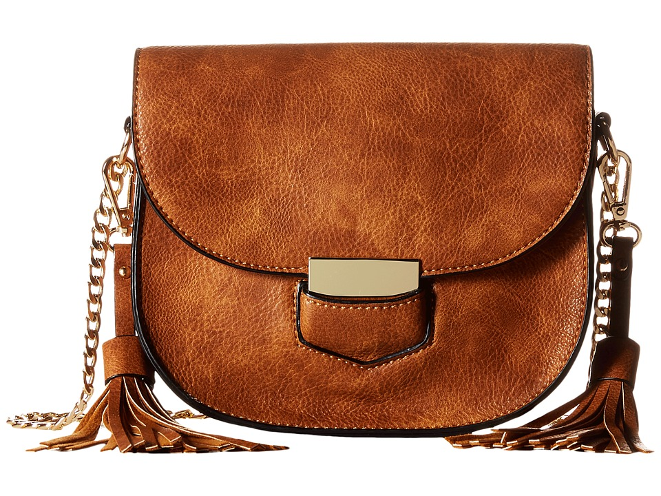 Gabriella Rocha - Marcella Crossbody with Tassels (Brown) Cross Body Handbags