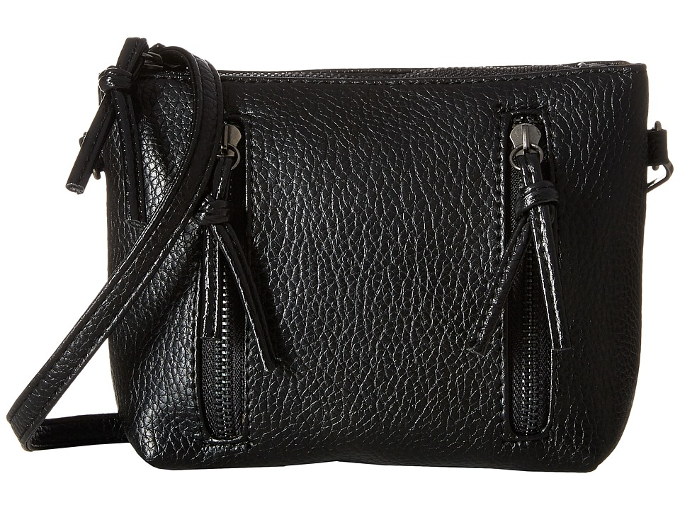 Gabriella Rocha - Margo Double Zipper Crossbody (Black) Cross Body Handbags