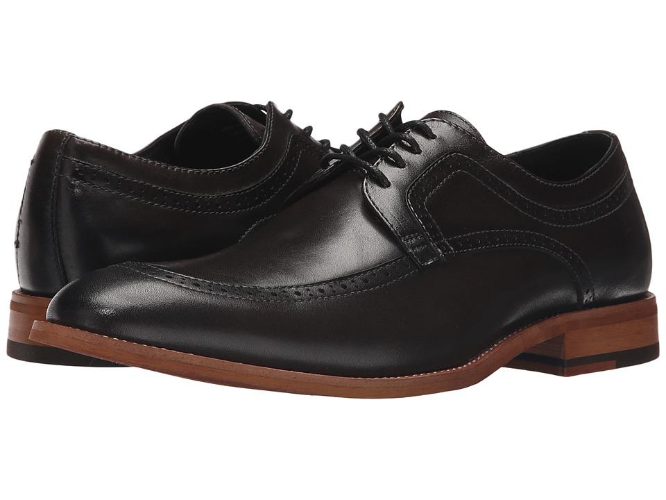 Stacy Adams - Dwight Moc Toe Oxford (Dark Gray) Men's Lace Up Moc Toe Shoes