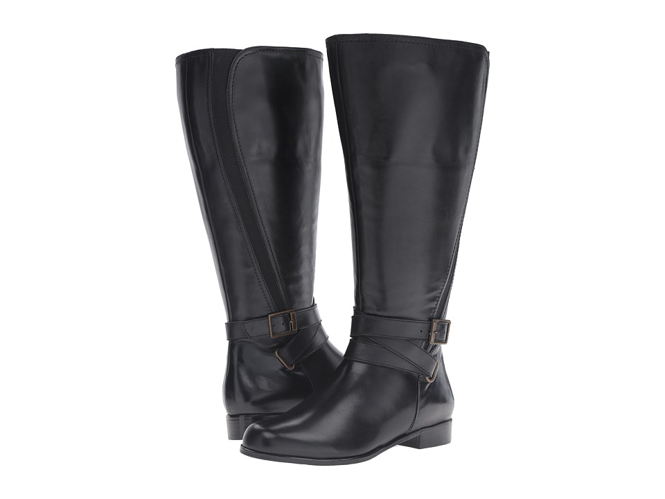 Walking Cradles - Tristan Extra Wide (Black Nappa) Women's Shoes