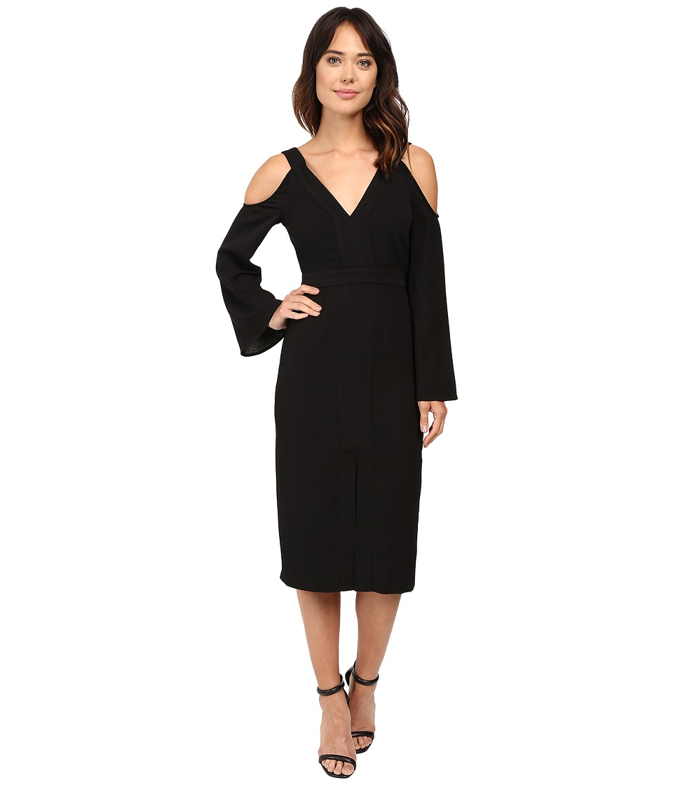 KEEPSAKE THE LABEL - In Motion Dress (Black) Women's Dress