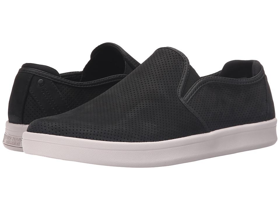 Mark Nason - Knoxville (Black Nubuck/White) Men's Slip on Shoes