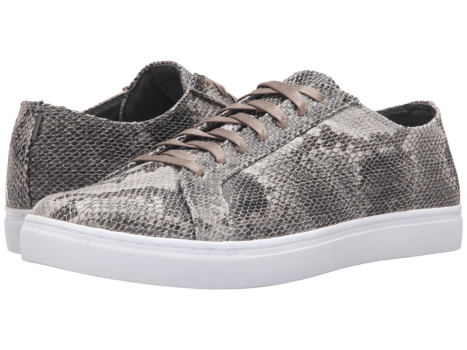 Mark Nason - Rowher (Snake Print Canvas/White) Men's Lace up casual Shoes
