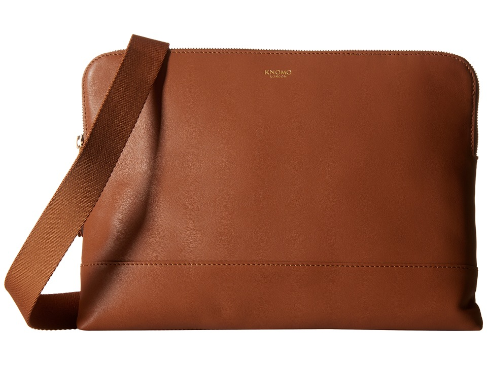 KNOMO London - Molton Crossbody Bag (Caramel) Cross Body Handbags