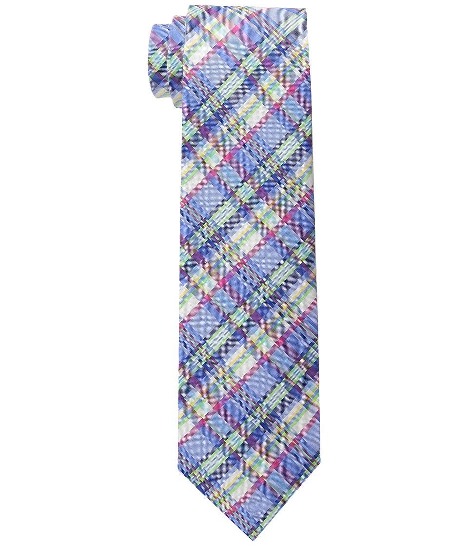LAUREN Ralph Lauren - Shirting Plaid Cotton Tie (Light Blue/Pink) Ties