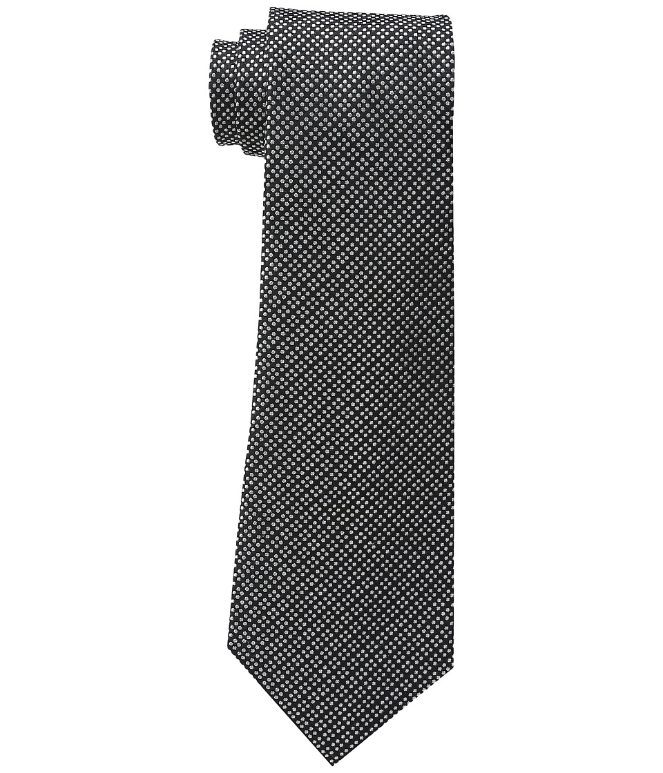 LAUREN Ralph Lauren - Pin Dot Silk-Tie (Black) Ties