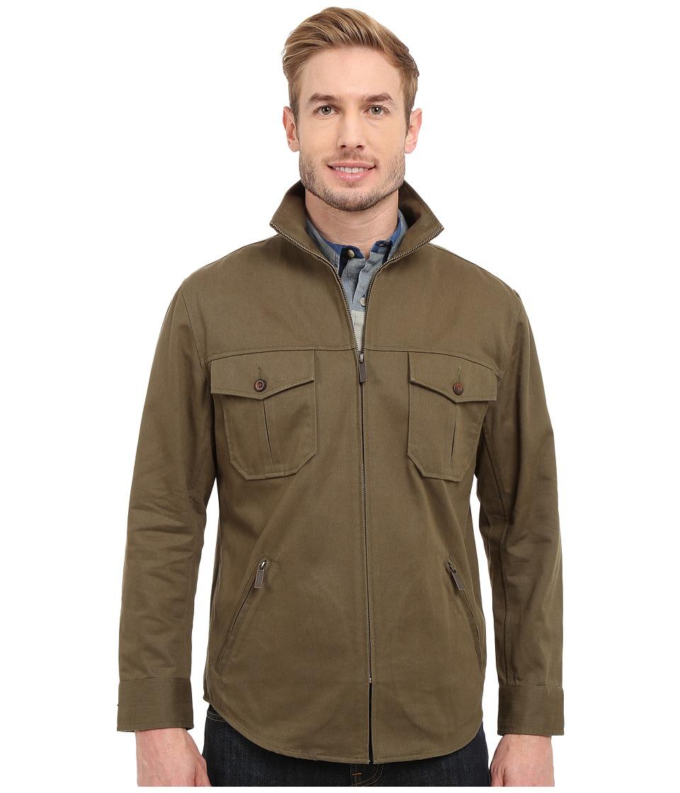 Pendleton - Twill Shirt Jacket (Cypress) Men's Coat