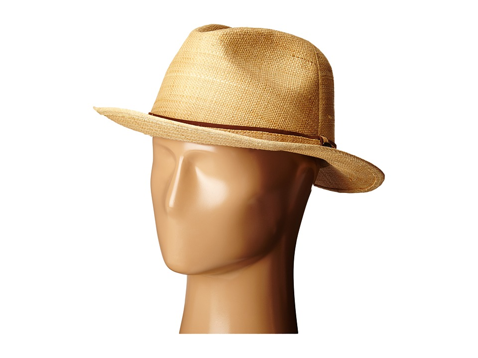 SCALA - Matte Raffia Safari (Natural) Safari Hats