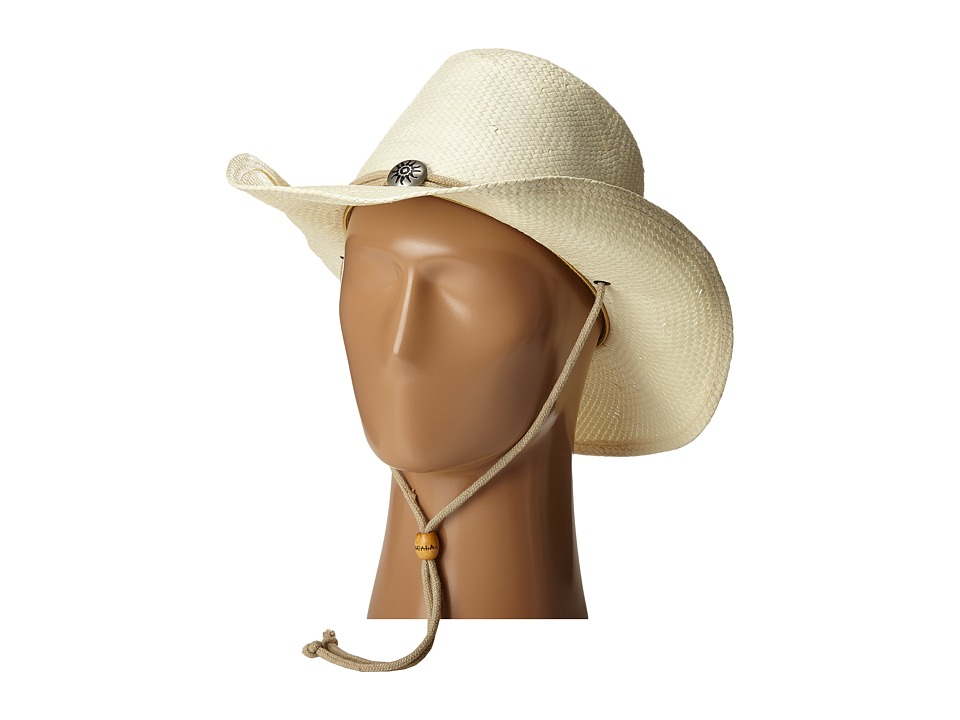 SCALA - Toyo Shapeable Western with Chin Cord (Natural) Caps