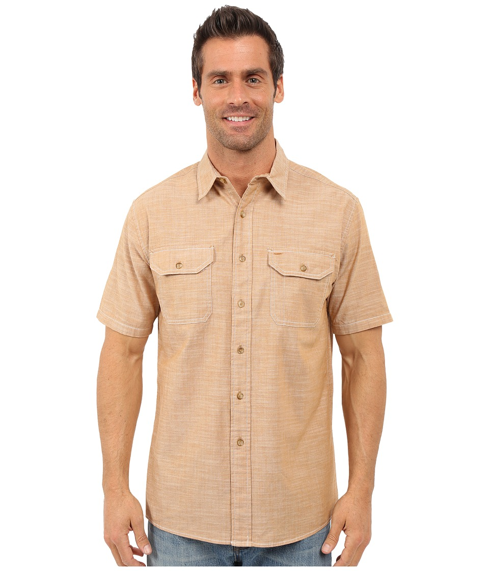 Pendleton - Short Sleeve Chambray (Rust) Men's Clothing