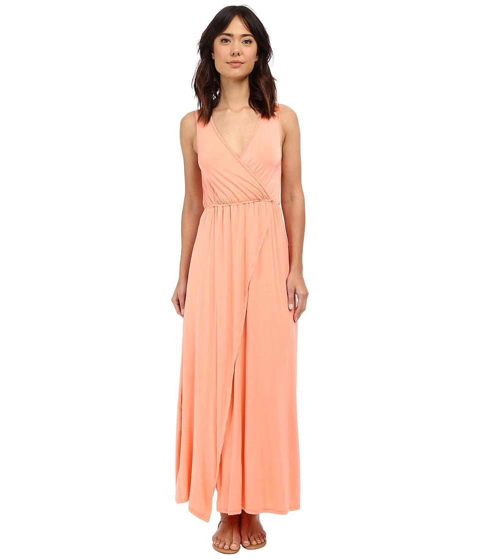 Culture Phit - Jain Maxi Dress (Peach) Women's Dress