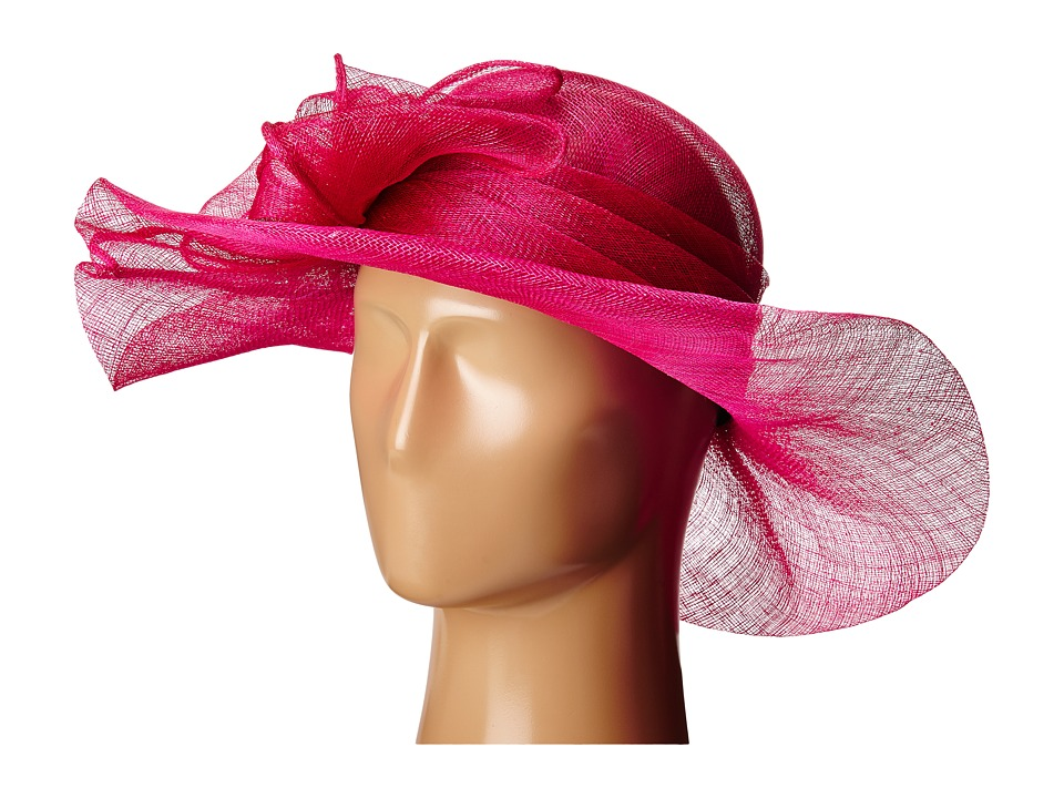 SCALA - Sinamay with Large Bow (Fuchsia) Headband