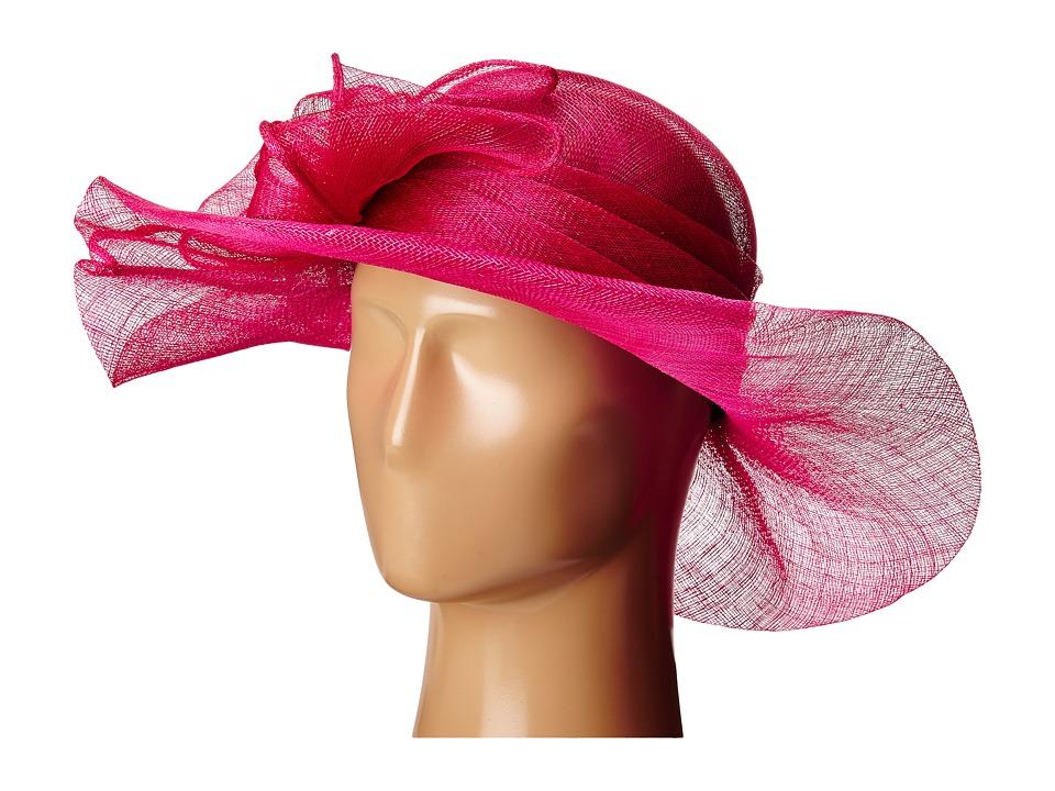 SCALA - Sinamay with Large Bow (Fuchsia) Headband