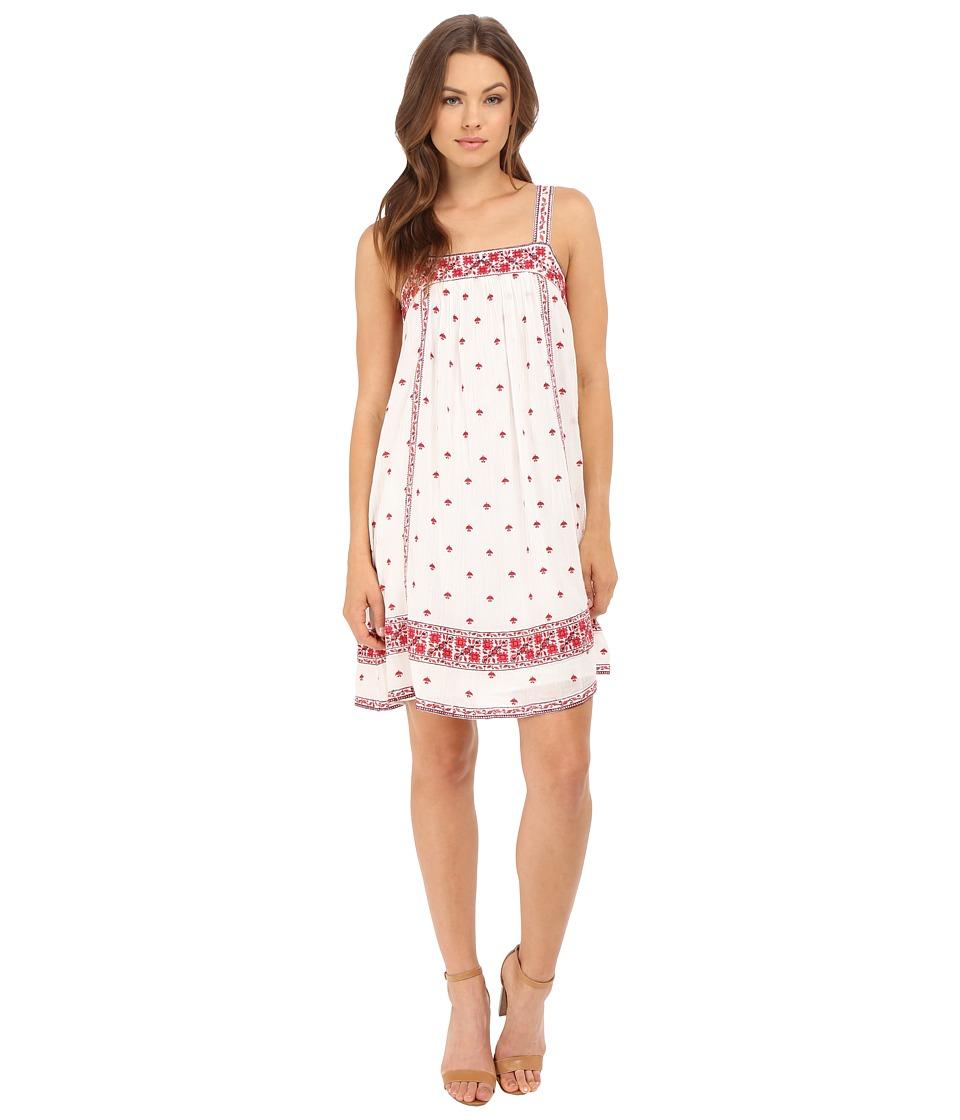 Joie Parillo A287-D2299 Porcelain-Coral Rose Dress