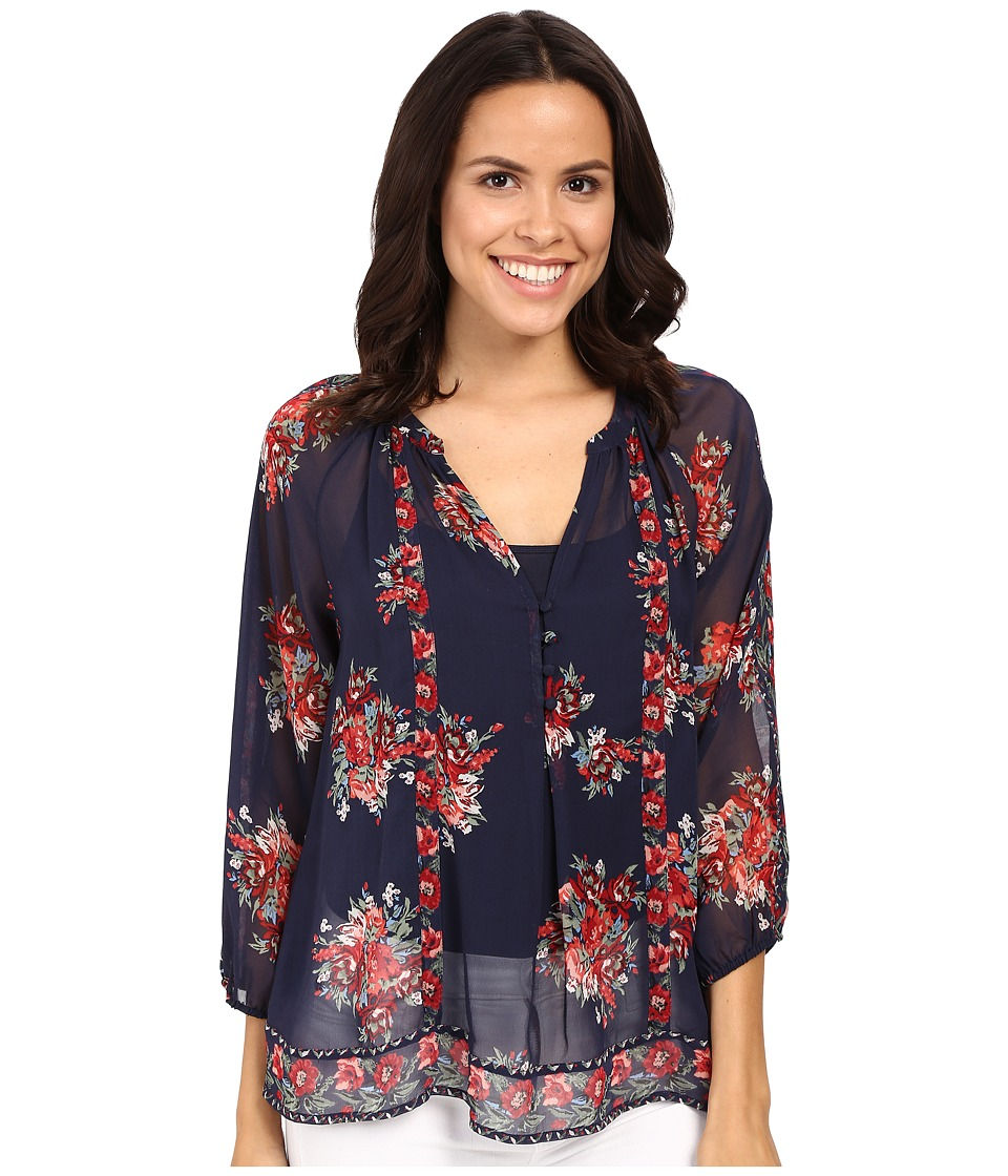 Joie - Gloria F 3603-22106F (Dark Navy) Women's Blouse
