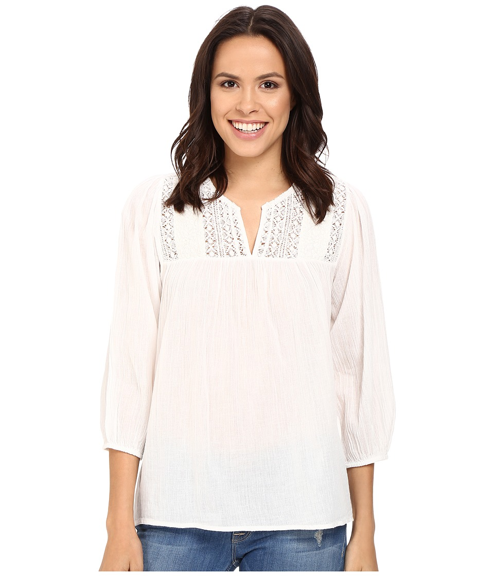 Joie - Folk A350-T4612 (Porcelain) Women's Blouse
