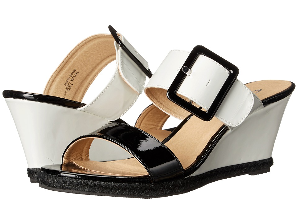CL By Laundry - Tayler (Black/White) Women's Shoes
