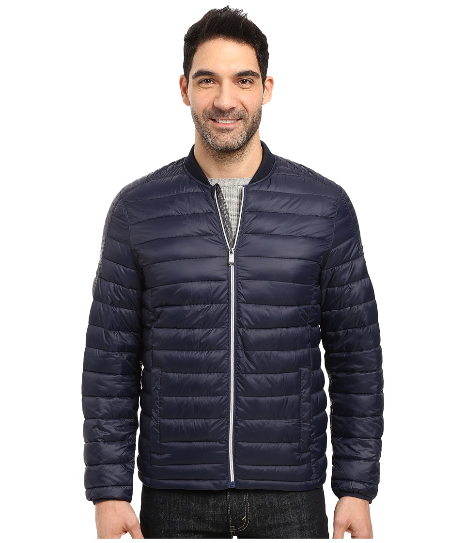 Calvin Klein - Dressy Packable Puffer Jacket (Cadet Navy) Men's Coat