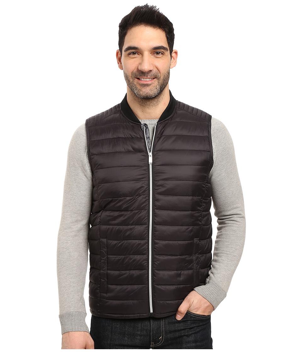 Calvin Klein - Dressy Puffer Vest (Black) Men's Vest