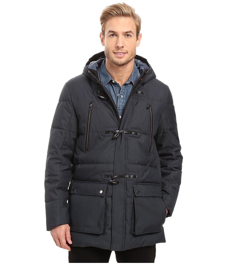 Calvin Klein - Padded Toggle Coat (Officer Navy) Men's Coat