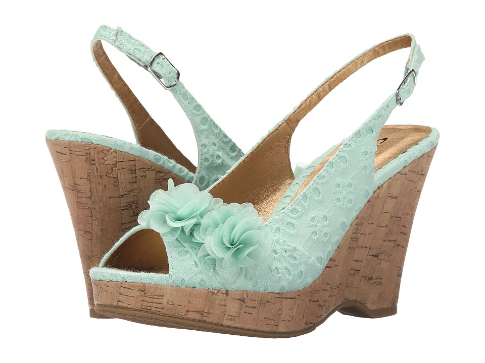 CL By Laundry - Immortal (Mint) Women's Wedge Shoes