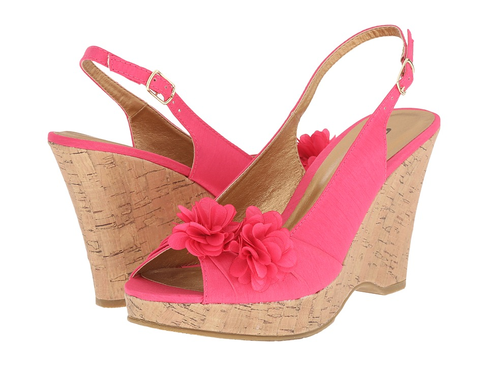 CL By Laundry - Immortal (Hot Pink) Women's Wedge Shoes