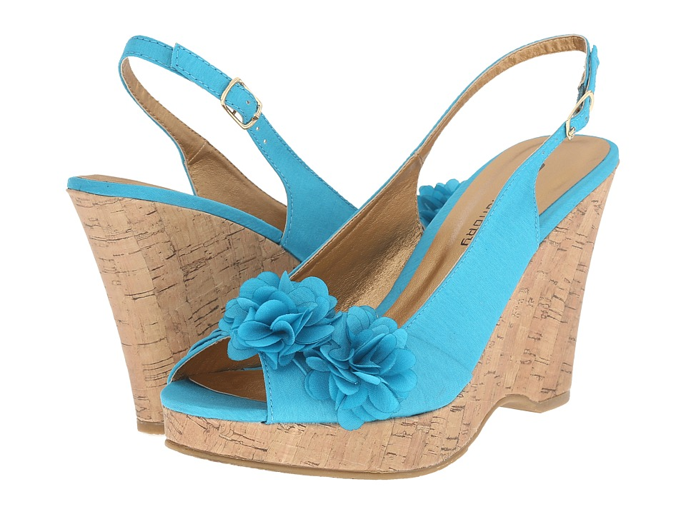 CL By Laundry - Immortal (Turquoise) Women's Wedge Shoes