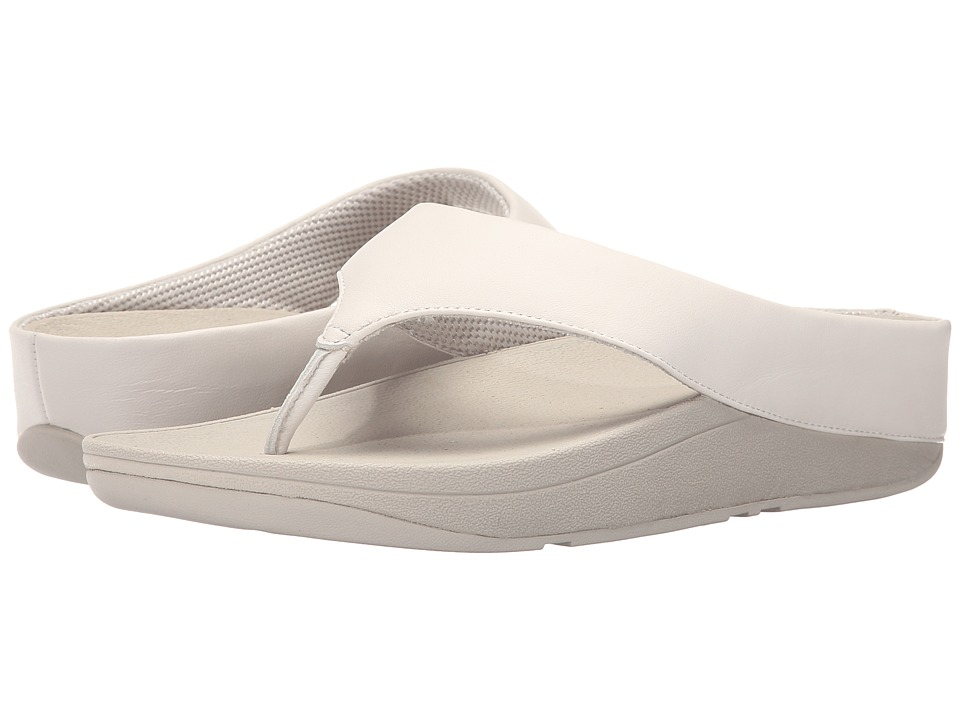 FitFlop - Ringer Toe Post (Urban White) Women's Sandals