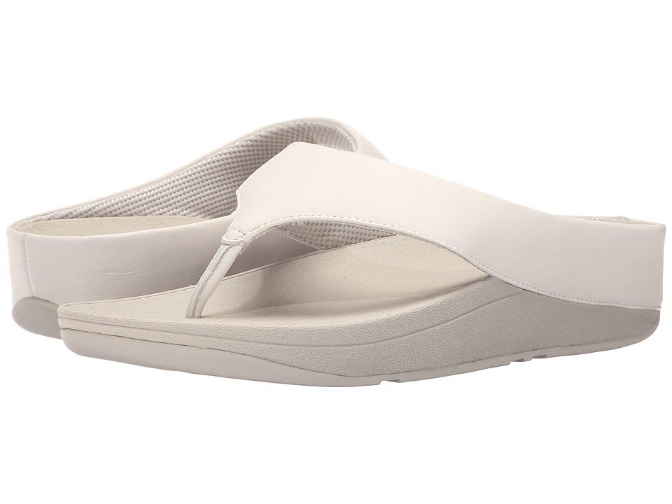 FitFlop - Ringer Toe Post (Urban White) Women's Sandals