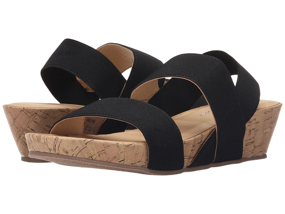 CL By Laundry - Nadia (Black) Women's Sandals