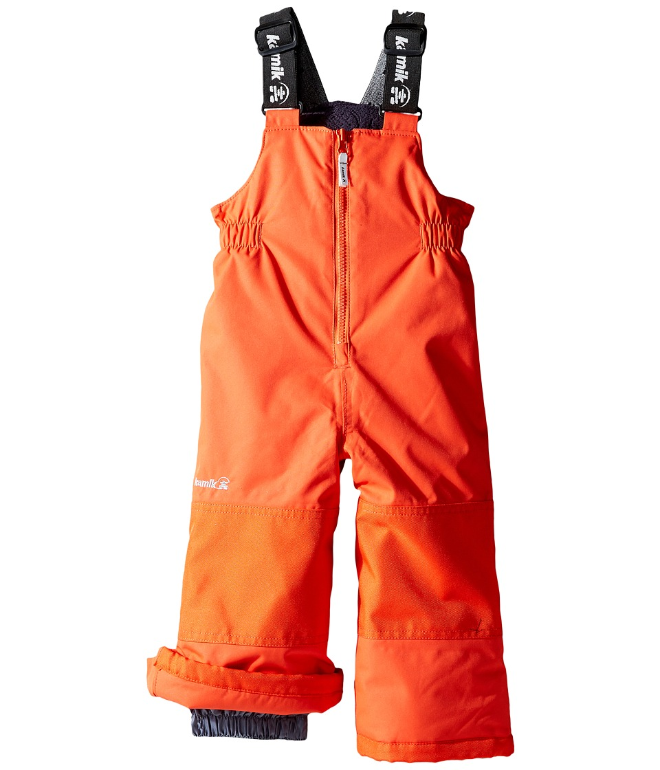 Kamik Kids - Winkie Solid Pants (Infant/Toddler/Little Kids/Big Kids) (Grenedine) Boy's Snow Bibs One Piece