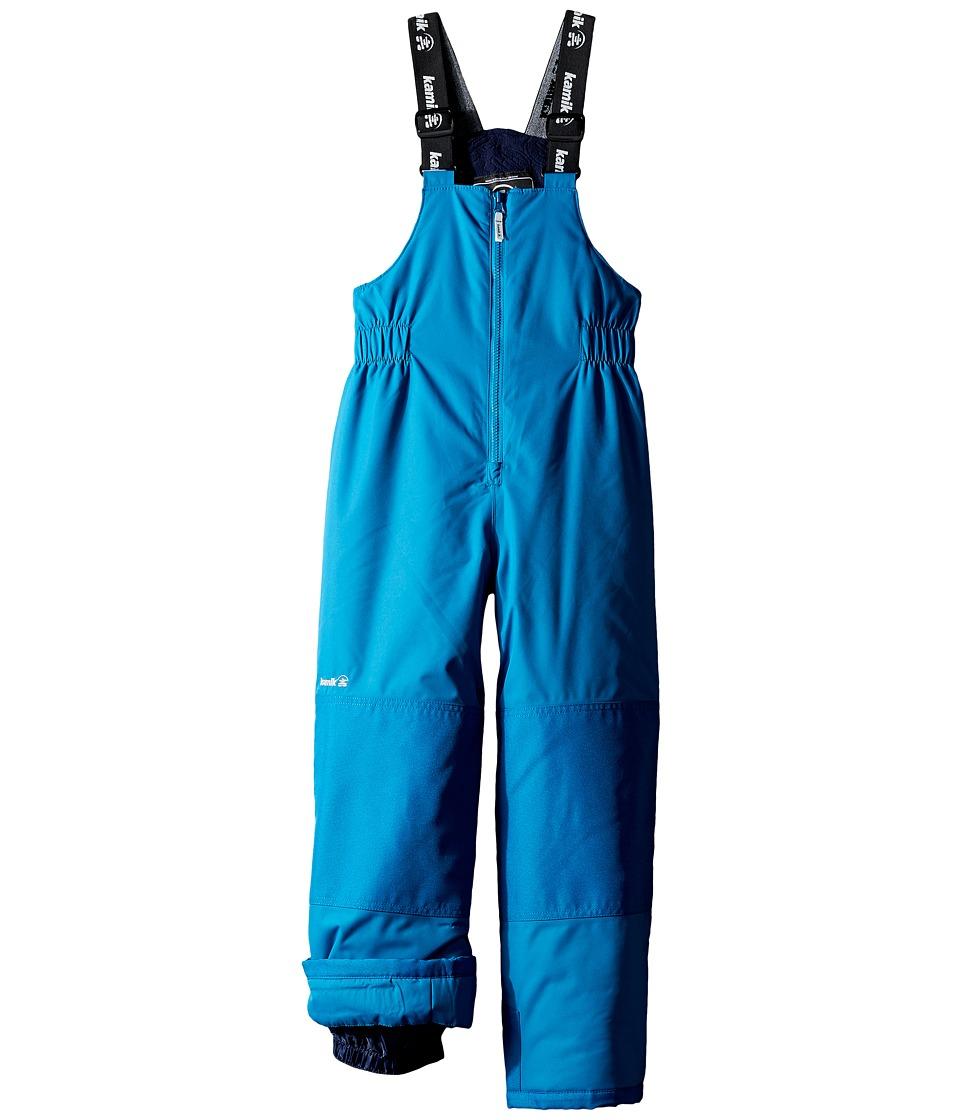 Kamik Kids - Winkie Solid Pants (Infant/Toddler/Little Kids/Big Kids) (Mykonos) Boy's Snow Bibs One Piece